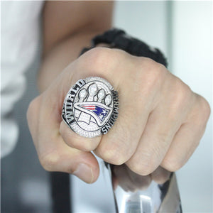 Custom New England Patriots 2014 NFL Super Bowl XLIX Championship Ring