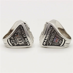 Super Bowl XLII 2007 New York giants Championship Ring