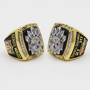 Super Bowl XL 2005 Pittsburgh Steelers Championship Ring