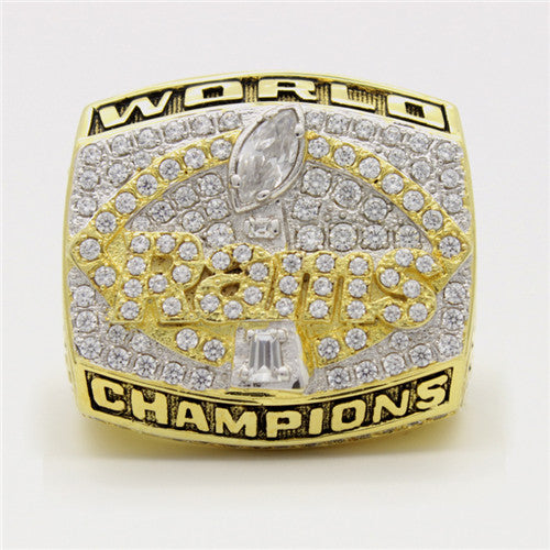 Super Bowl XXXIV 2000 St. Louis Rams Championship Ring
