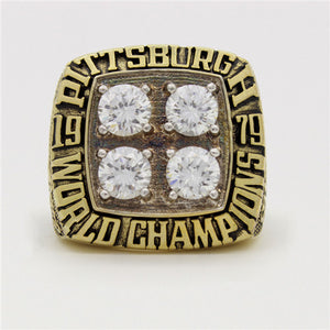 Super Bowl XIV 1979 Pittsburgh Steelers Championship Ring