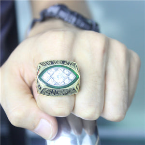 Super Bowl III 1968 New York Jets Championship Ring
