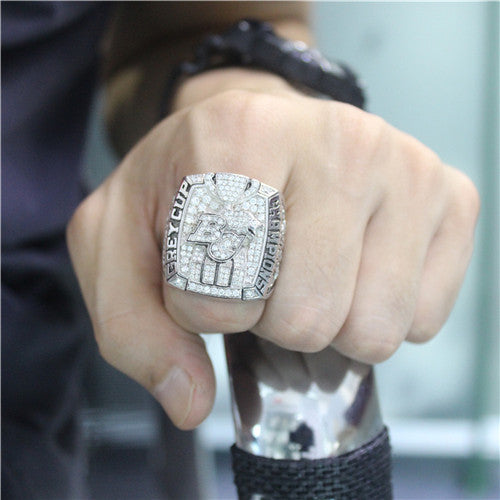 Custom BC Lions 2011 CFL 99th Grey Cup Championship Ring