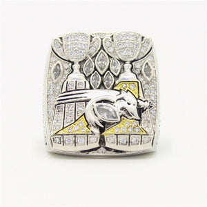 Custom Montreal Alouettes 2010 CFL 98th Grey Cup Championship Ring