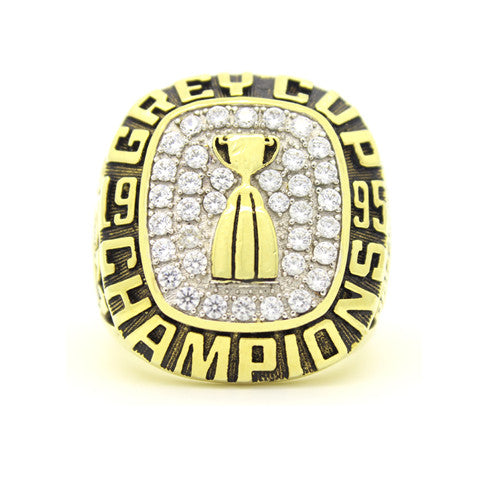 Custom Baltimore Stallions 1995 CFL 83rd Grey Cup Championship Ring