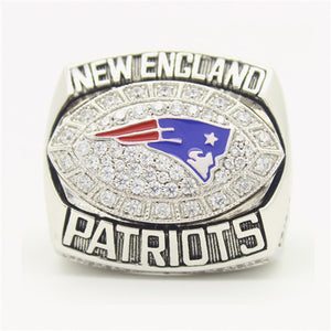 New England Patriots 2007 American Football Championship Ring