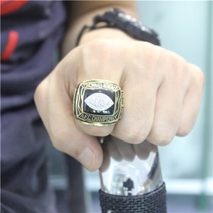 Cincinnati Bengals 1988 American Football Championship Ring With Black Obsidian