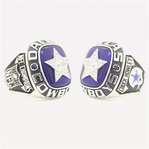 Dallas Cowboys 1970 National Football Championship Ring With Blue Sapphire