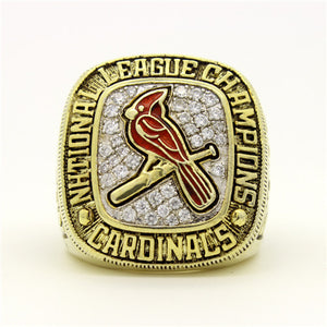 Custom St. Louis Cardinals 2004 National League Championship Ring With 18K Gold