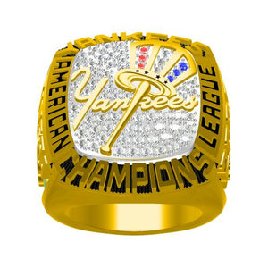 Custom 2003 New York Yankees American League Championship Ring
