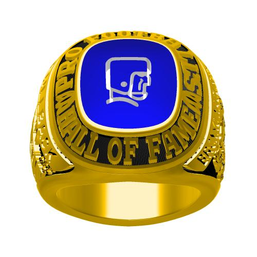 Custom 1963 Bronko Nagurski Hall of Fame Championship Ring