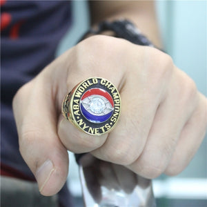 Custom 1974 New York Nets ABA Championship Ring