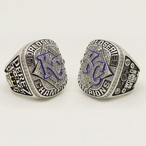 Custom Kansas City Royals 2015 World Series Championship Fans Ring