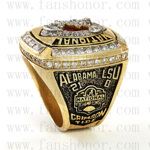 Customized NCAA 2011 Alabama Crimson Tide National Championship Ring