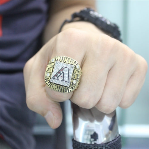 Custom 2001 Arizona Diamondbacks MLB World Series Championship Ring