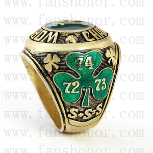 Customized MLB 1974 Oakland Athletics World Series Championship Ring