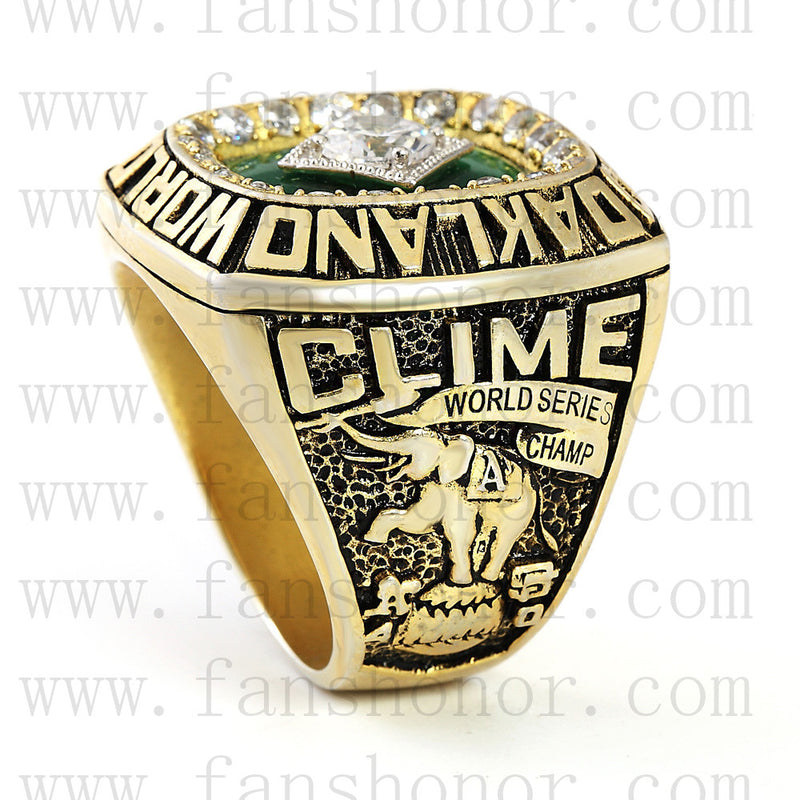 Customized MLB 1989 Oakland Athletics World Series Championship Ring