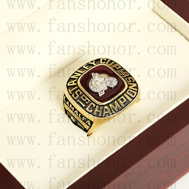 Customized NHL 1996 Colorado Avalanche Stanley Cup Championship Ring