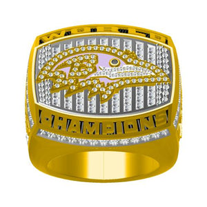 Custom Baltimore Ravens 2000 NFL Super Bowl XXXV Championship Ring