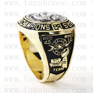 Customized Chicago Bears NFL 1985 Super Bowl XX Championship Ring
