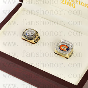 Customized Chicago Bears NFL Championship Rings Set Wooden Display Box Collections