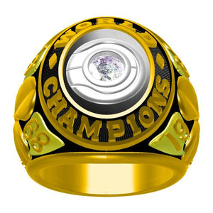 Custom 1968 Boston Celtics NBA Basketball World Championship Ring