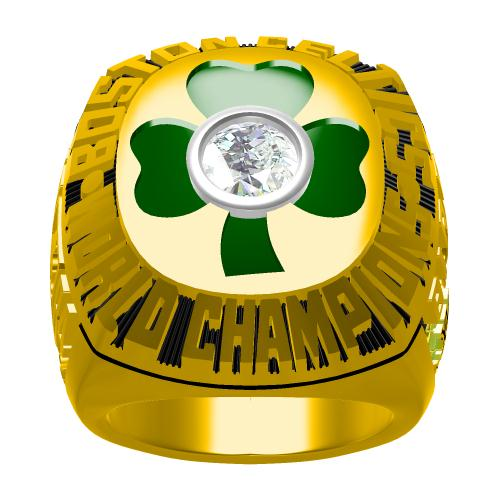 Custom 1984 Boston Celtics NBA Basketball World Championship Ring