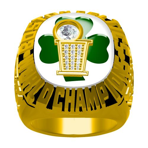 Custom 1986 Boston Celtics NBA Basketball World Championship Ring