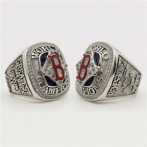 Custom 2004 Boston Red Sox MLB World Series Championship Ring