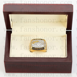 Customized Denver Broncos NFL 1997 Super Bowl XXXII Championship Ring