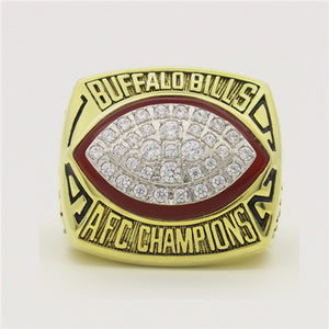 Custom 1992 Buffalo Bills American Football Championship Ring