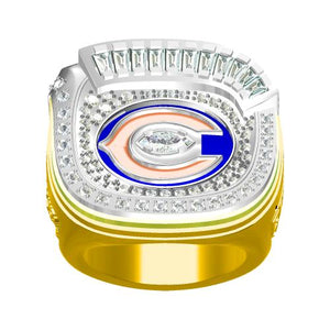 Custom 2006 Chicago Bears National Football Championship Ring
