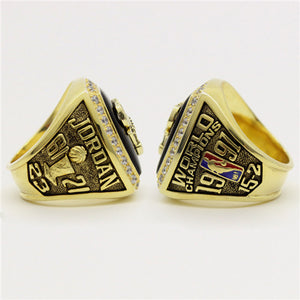 Custom 1991 Chicago Bulls NBA Basketball World Championship Ring