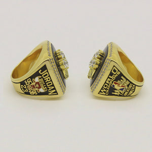 Custom 1996 Chicago Bulls NBA Basketball World Championship Ring