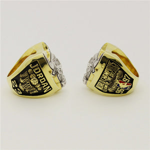 Custom 1997 Chicago Bulls NBA Basketball World Championship Ring