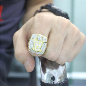 Custom 1998 Chicago Bulls National NBA Basketball World Championship Ring
