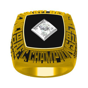 Custom 1981 Cincinnati Bengals American Football Championship Ring