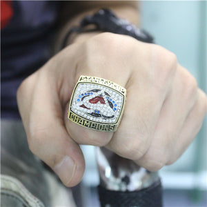 Custom 2001 Colorado Avalanche NHL Stanley Cup Championship Ring