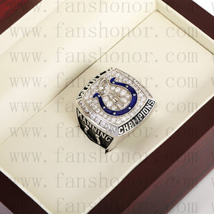 Customized Indianapolis Colts NFL 2006 Super Bowl XLI Championship Ring