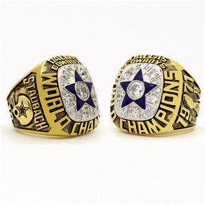 Custom Dallas Cowboys 1971 NFL Super Bowl VI Championship Ring