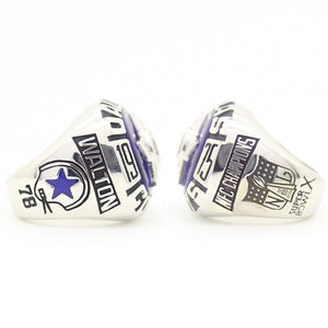 Custom 1975 Dallas Cowboys National Football Championship Ring