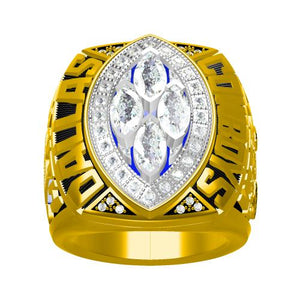 Custom Dallas Cowboys 1993 NFL Super Bowl XXVIII Championship Ring