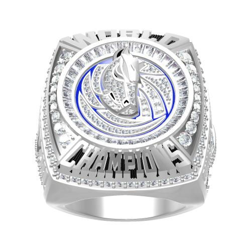 Custom 2011 Dallas Mavericks National NBA Basketball World Championship Ring