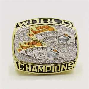 Custom Denver Broncos 1998 NFL Super Bowl XXXIII Championship Ring