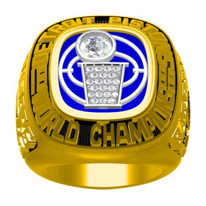 Custom 1989 Detroit Pistons NBA Basketball World Championship Ring