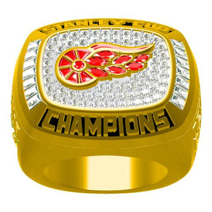 Custom 1998 Detroit Red Wings NHL Stanley Cup Championship Ring