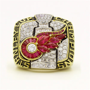Custom 2002 Detroit Red Wings NHL Stanley Cup Championship Ring