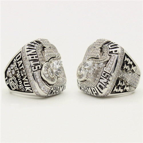 Custom 2008 Detroit Red Wings NHL Stanley Cup Championship Ring