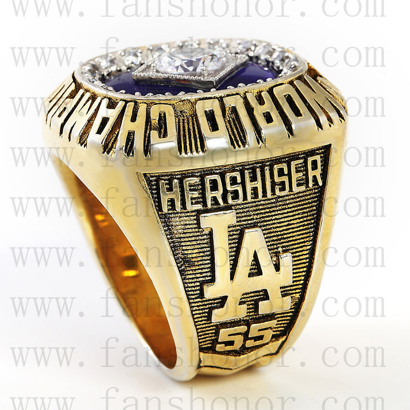 Customized MLB 1988 Los Angeles Dodgers World Series Championship Ring
