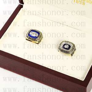 Customized Miami Dolphins NFL NFL Championship Rings Set Wooden Display Box Collections